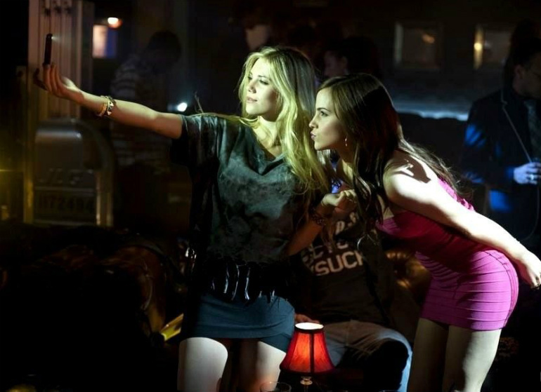 Bling Ring Movie Club Scene