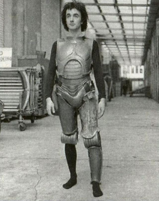 Vintage behind-the-scenes shots give away sci-fi classics' secrets