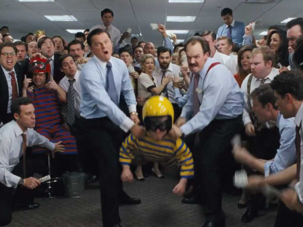 Movie Review The Wolf Of Wall Street Movie Nation