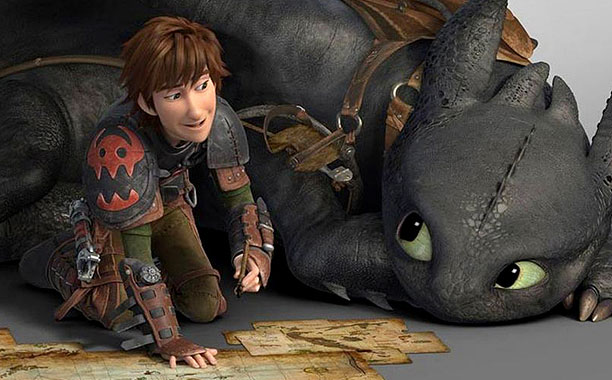 Movie review how to train your dragon 2 movie nation the charms of how to train your dragon are thinned a bit for its sequel a cartoon with better animation and livelier action if fewer jokes ccuart Image collections