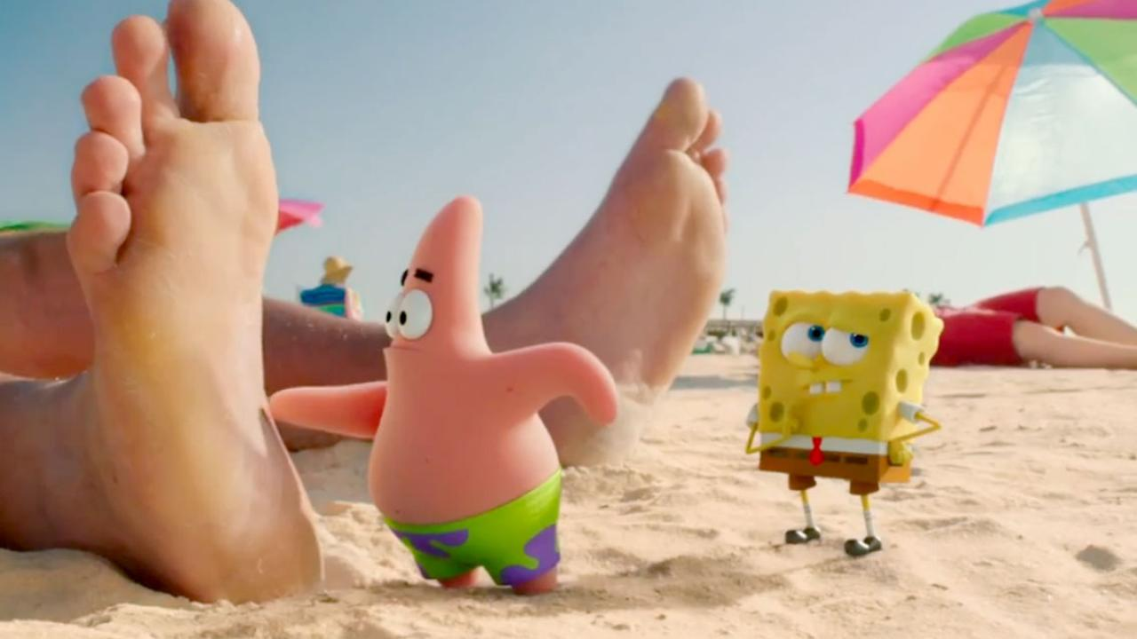 movie review the spongebob movie sponge out of water movie nation