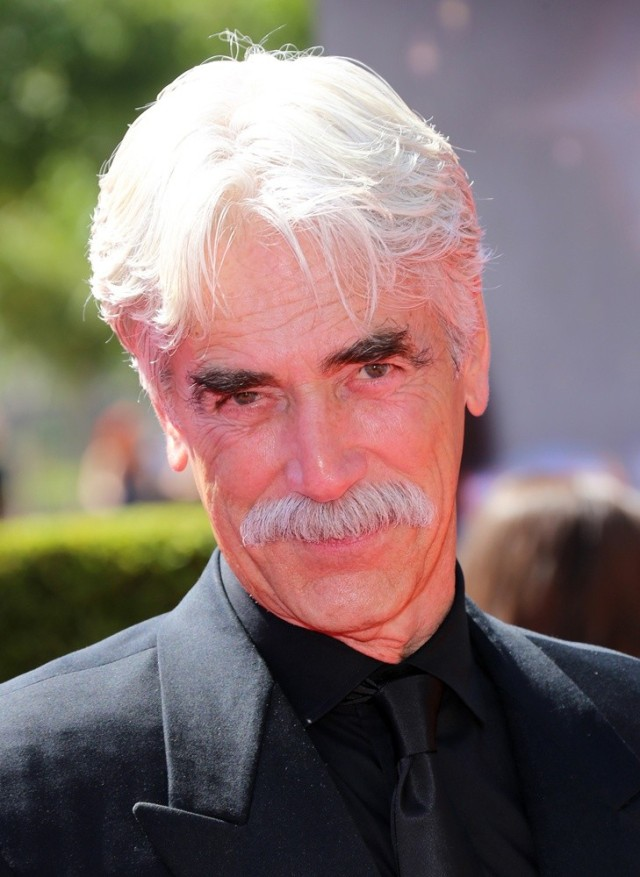 2013 Primetime Creative Arts Emmy Awards Arrivals Held at Nokia Theatre LA Live Featuring: Sam Elliott Where: Los Angeles, California, United States When: 16 Sep 2013 Credit: FayesVision/WENN.com