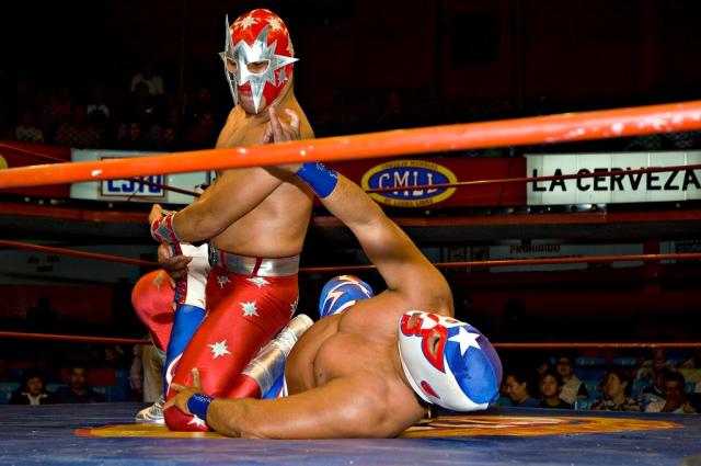 Lucha Libre, Mexico City, D.F., Mexico