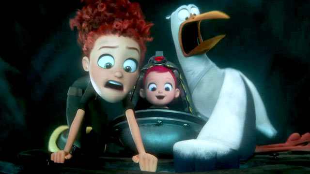 Movie Review Dizzy Storks Deliver The Laughs Movie Nation