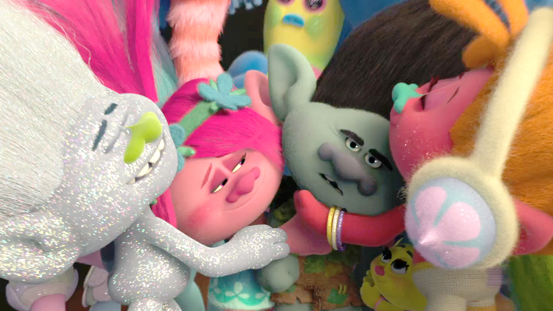 Movie Review Trolls Is For The Tiniest Tykes Nobody Else