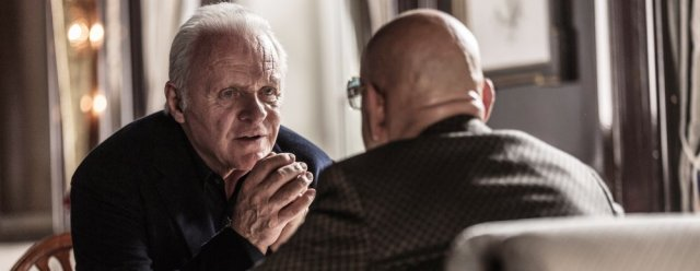 COLLIDE aka AUTOBAHN, from left ; Anthony Hopkins, Ben Kingsley (back to picture), © Open road