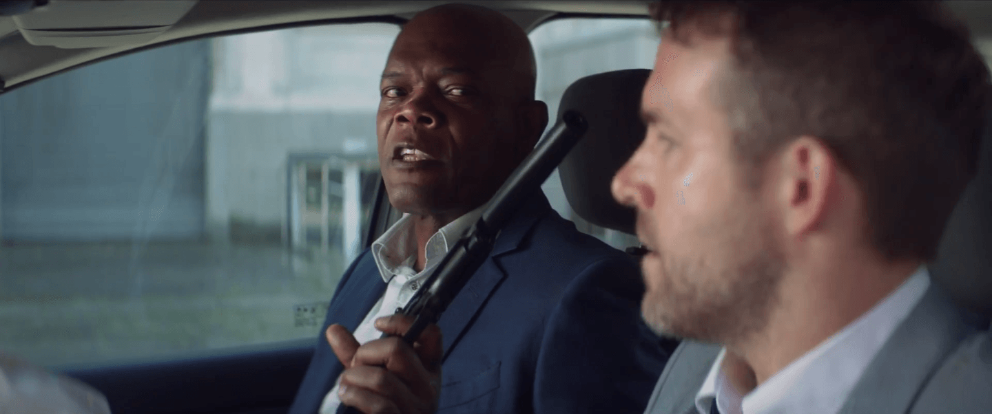 Movie Review Reynolds Jackson Yuk It Up Between Bloodbaths In The Hitman S Bodyguard Movie Nation