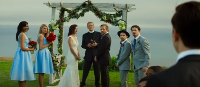 Movie Review Justin Long Suffers As The Ex At The Wedding Who Came