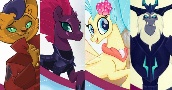 Movie Review My Little Pony The Movie Movie Nation