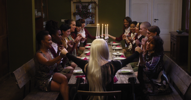movie review the misandrists looks for laughs among