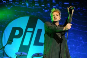 Picture By: Duncan Bryceland - Picture shows John Lydon performing with Public Image Ltd (PIL) on the third night of their seven date reunion tour at the O2 Academy, Glasgow, Scotland, UK 18th December 2009. Singer John Lydon was formerly known as Johnny Rotton and was the frontman for the notorious English Punk band the Sex Pistols who produced an array of infamous songs such as 'God Save The Queen', 'Anarchy In the UK', 'Holiday In The Sun' and 'Pretty Vacant'. The shows mark the 30th Anniversary of the release of PIL's groundbreaking 'Metal Box' album and the gig showcased their whole career including their eponymous seminal single 'Public Image', 'Flowers of Romance', '(This is Not a) Love Song' and 'Rise'.