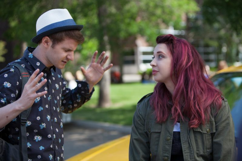 movie review cyrano heads to high school in �roxy