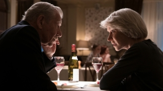 """(L-R) IAN McKELLEN as Roy Courtnay and HELEN MIRREN as Betty McLeish in Warner Bros. Pictures' and New Line Cinema's drama """"THE GOOD LIAR,"""" a Warner Bros. Pictures release."""