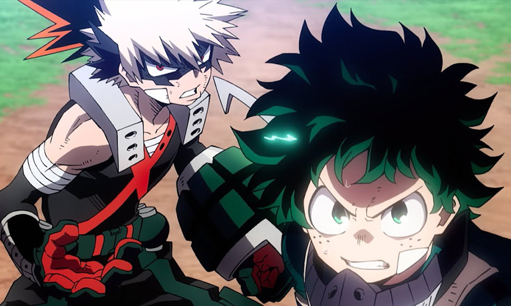 Movie Review My Hero Academia Heroes Rising Movie Nation