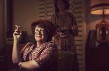MRS. AMERICA -- Pictured: Margo Martindale as Bella Abzug. CR: Pari Dukovic/FX